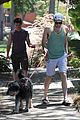 zachary quinto walking dogs 09