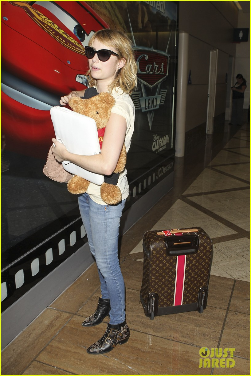 emma roberts teddy bear traveler 042686847