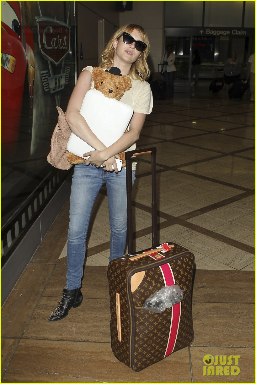 emma roberts teddy bear traveler 092686852