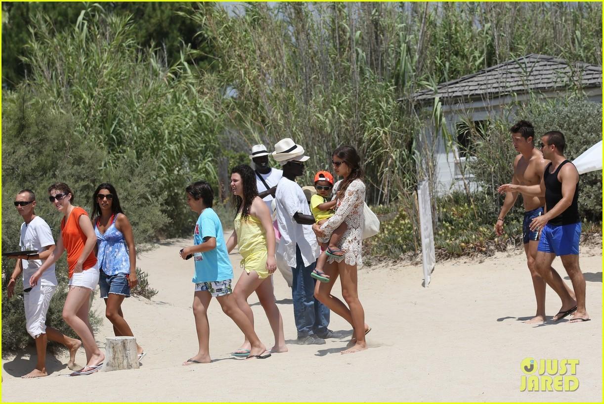 cristiano ronaldo irina shayk bangin beach bods 412682506