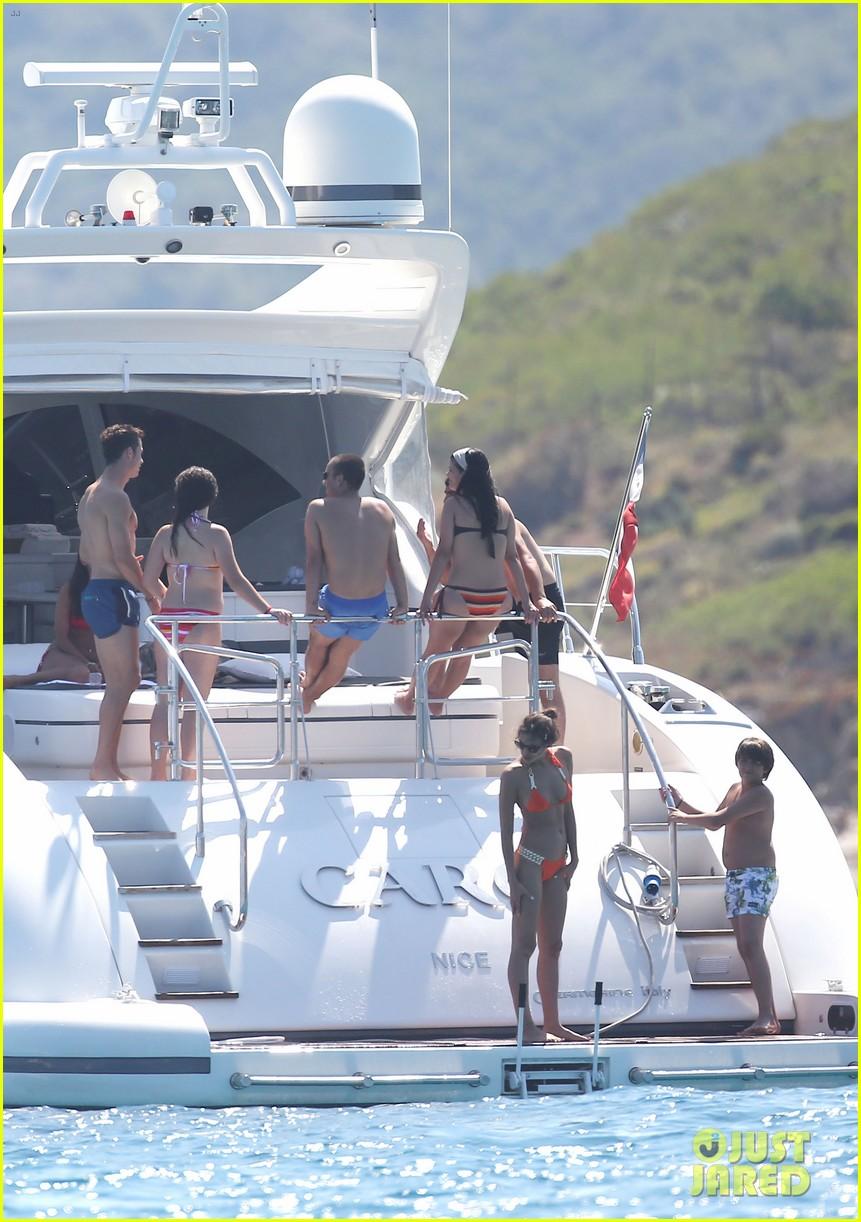 cristiano ronaldo yacht ride cristiano jr irina shayk 25