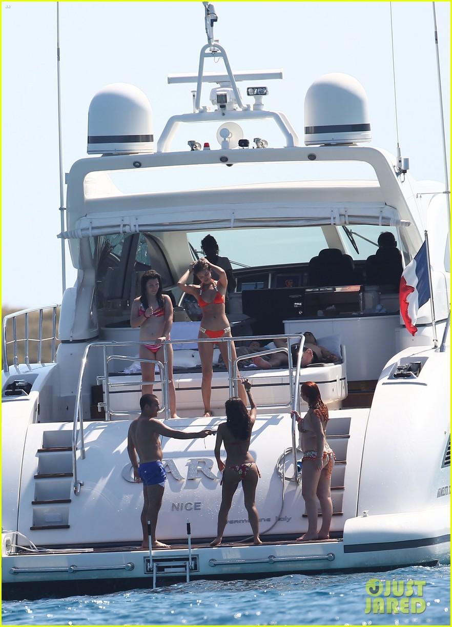 cristiano ronaldo yacht ride cristiano jr irina shayk 272682677