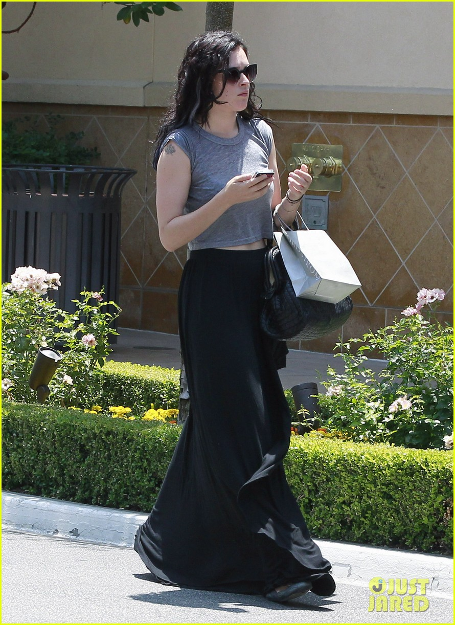 rumer willis bare lunch at joans 07