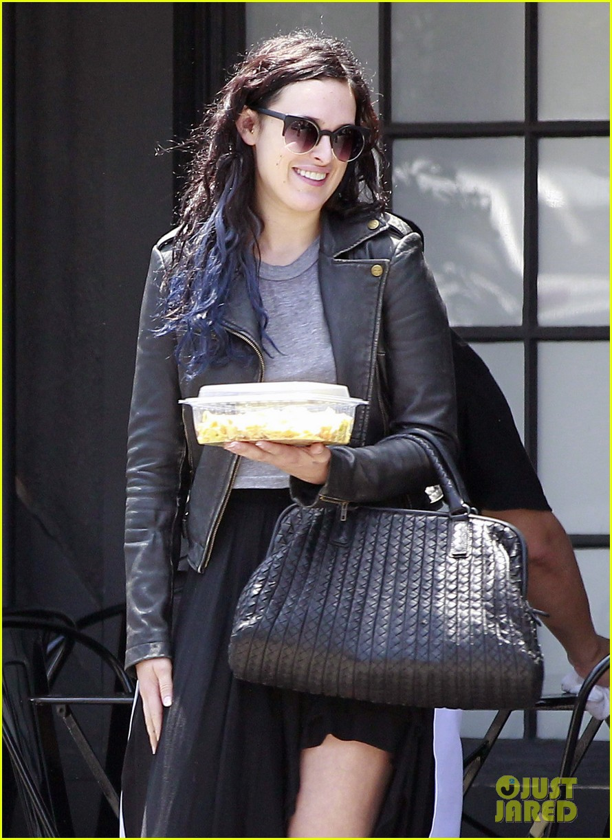 rumer willis bare lunch at joans 092683294