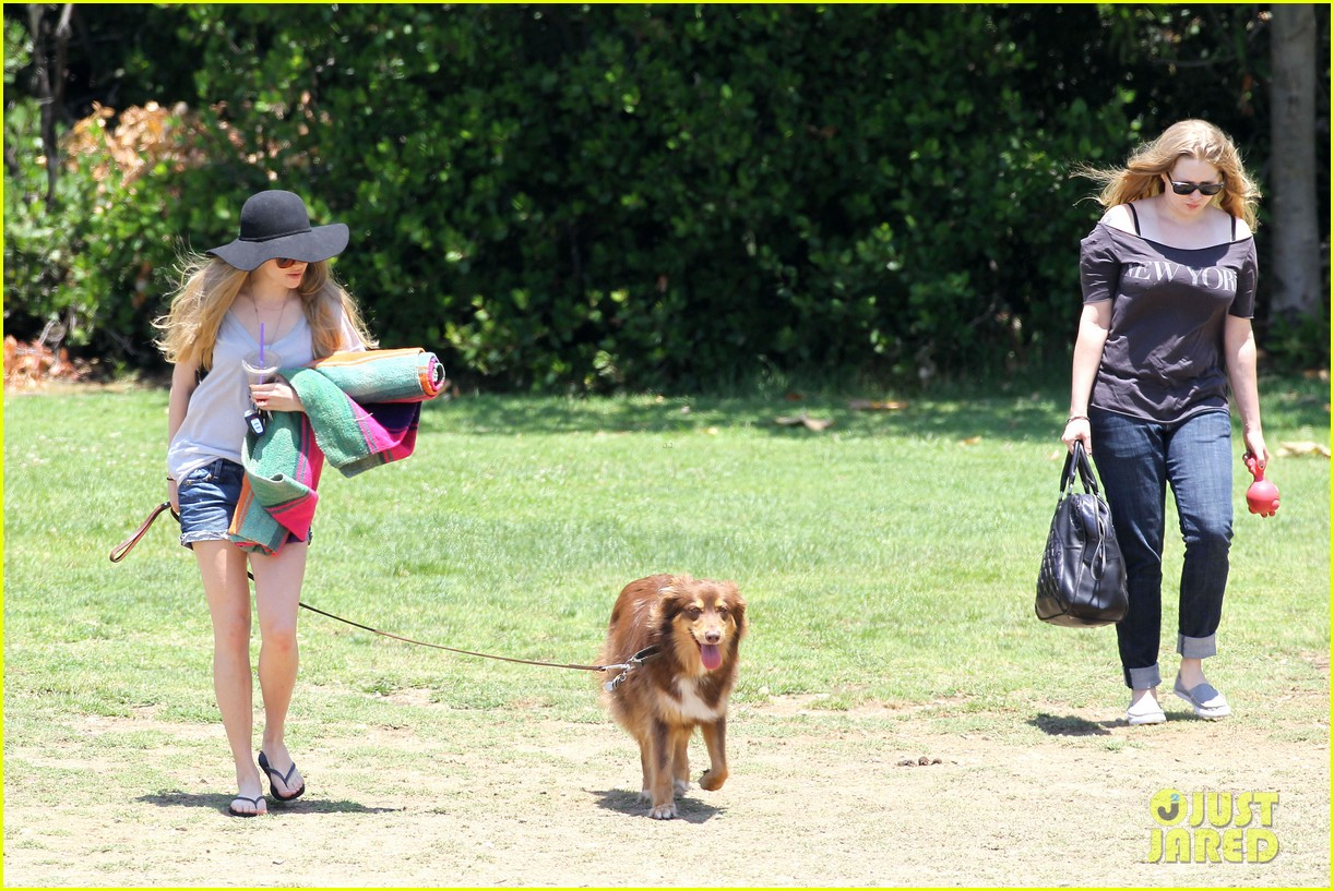 amanda seyfried park with flynn 162682826