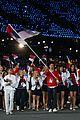 maria sharapova novak djokovic olympic flag bearers 04