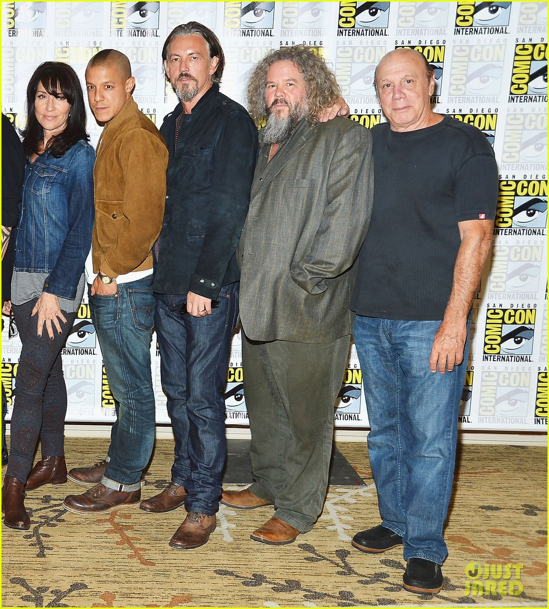 sons of anarchy comic con panel 072687966