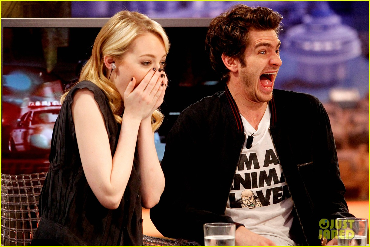 emma stone andrew garfield spider man tops july 4th 112683645