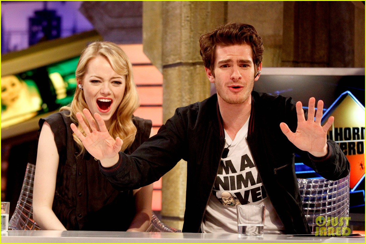emma stone andrew garfield spider man tops july 4th 14