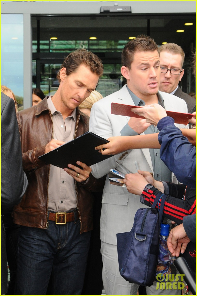 channing tatum matthew mcconaughey magic mike germany photo call 11