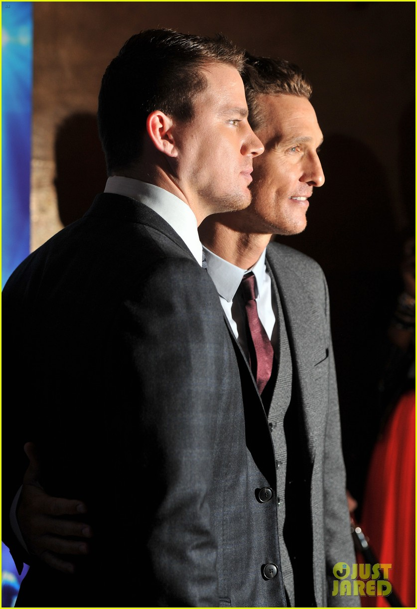 channing tatum matthew mcconaughey magic mike london premiere 15