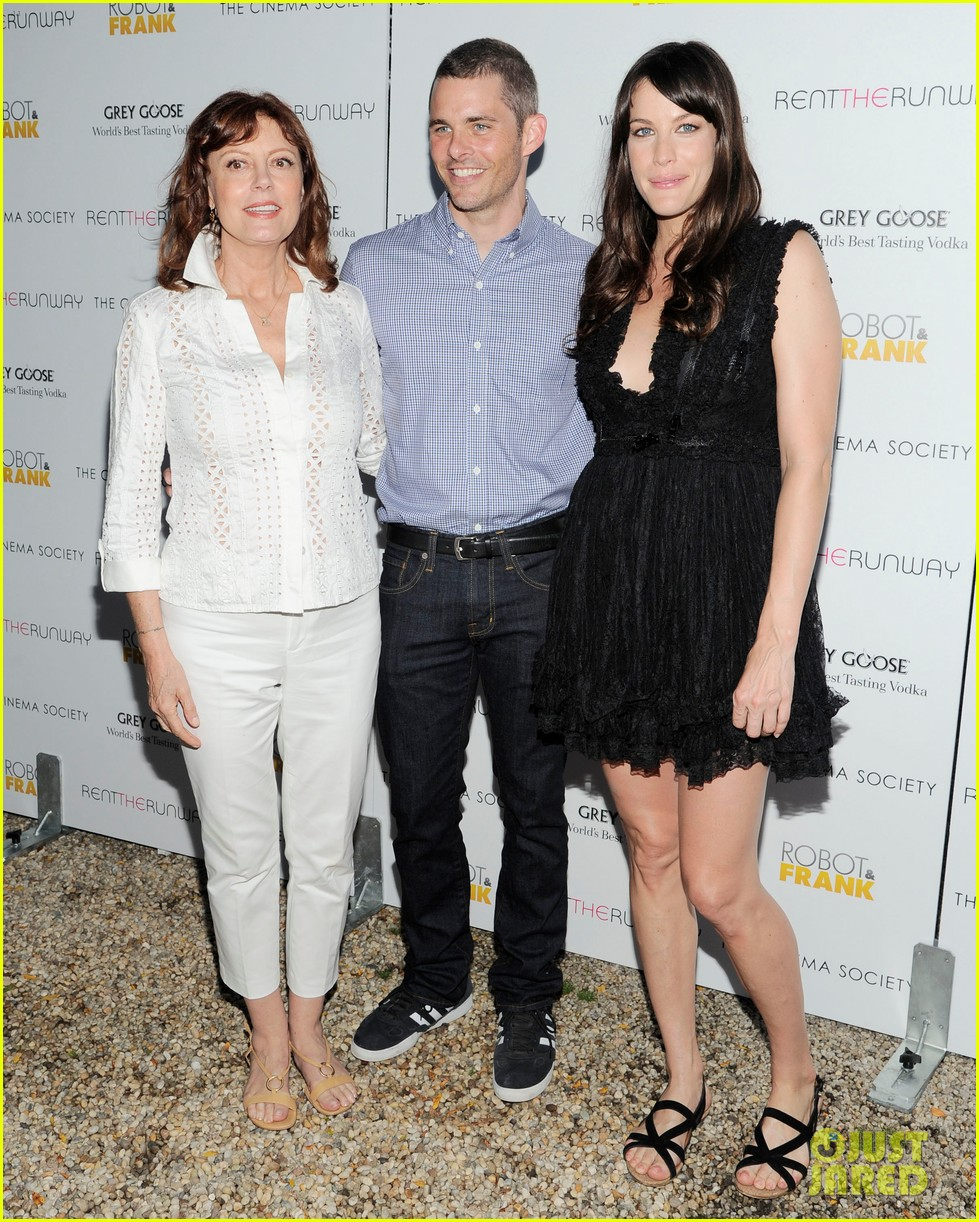 liv tyler james marsden robot frank screening 032693517
