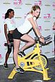 victorias secret angels soulcycle for cancer research 01