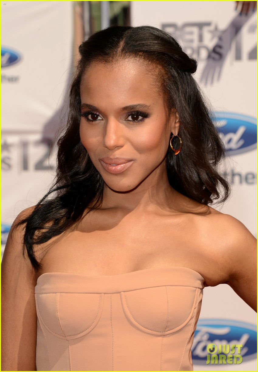 kerry washington taraji p henson bet awards 2012 02