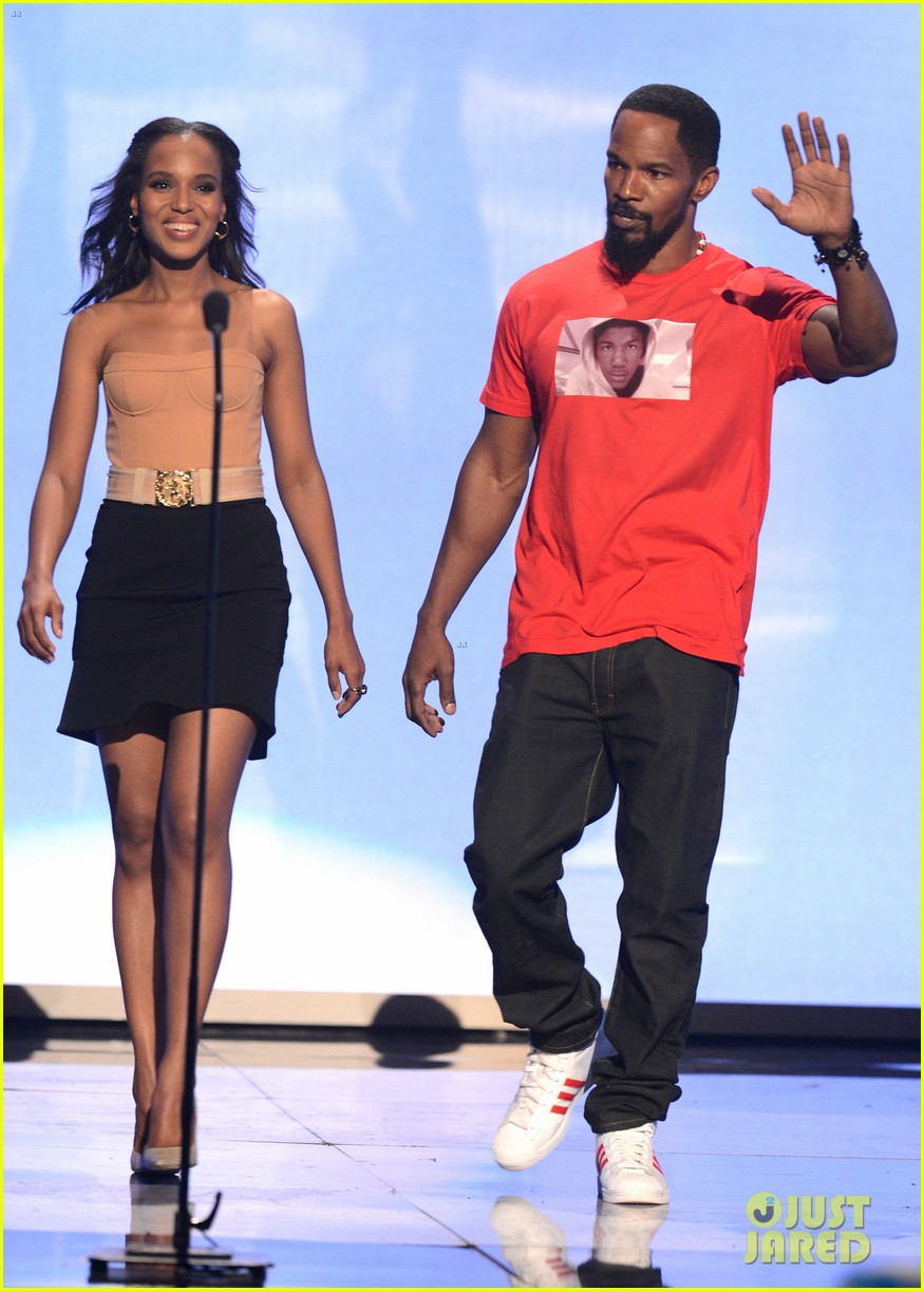 kerry washington taraji p henson bet awards 2012 19