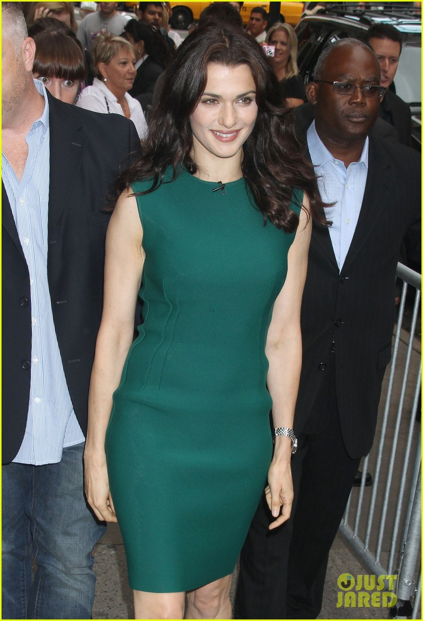 rachel weisz good morning america with jeremy renner 06