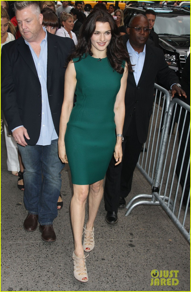 rachel weisz good morning america with jeremy renner 072694386