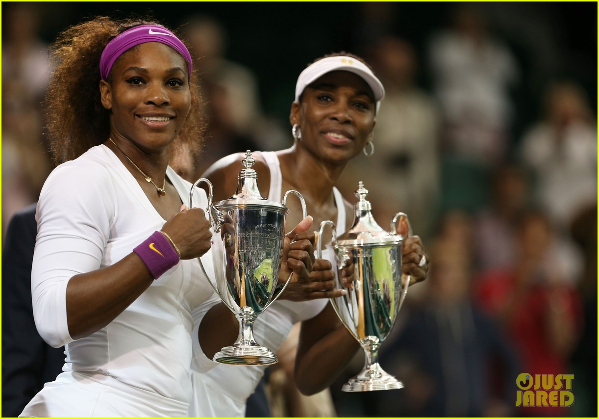 venus serena williams win wimbledon doubles crown 07