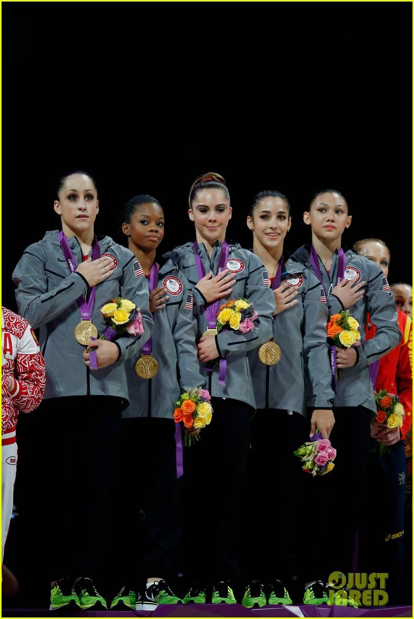 Winwin gymnastics - U S Women S Gymnastics Team Wins Gold Medal Photo 2694876 2012 Summer Olympics London Aly Raisman Gabby Douglas Jordyn Wieber Kyla Ross