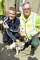 david beckham boys meet greet olympic guards 05