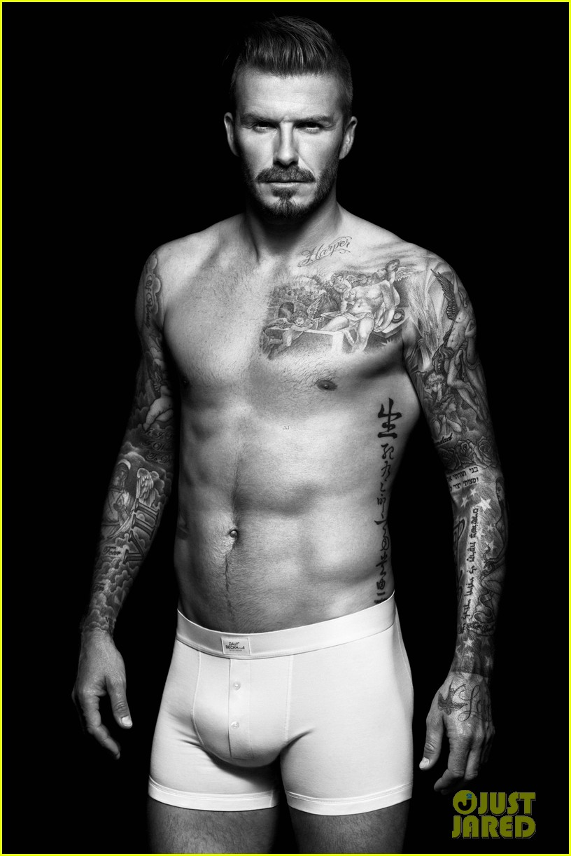 shirtless david beckham bodywear campaign images 03