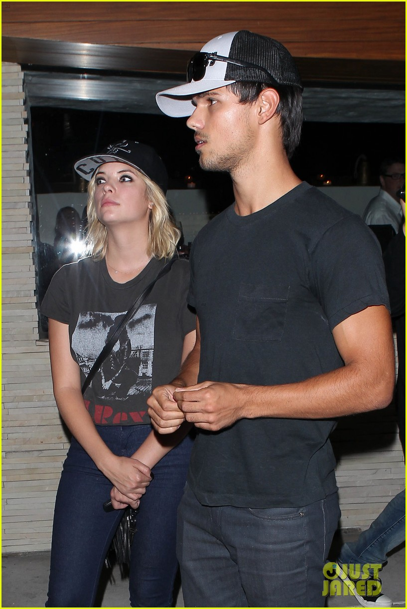 taylor lautner ashley benson red o dinner duo 062699505