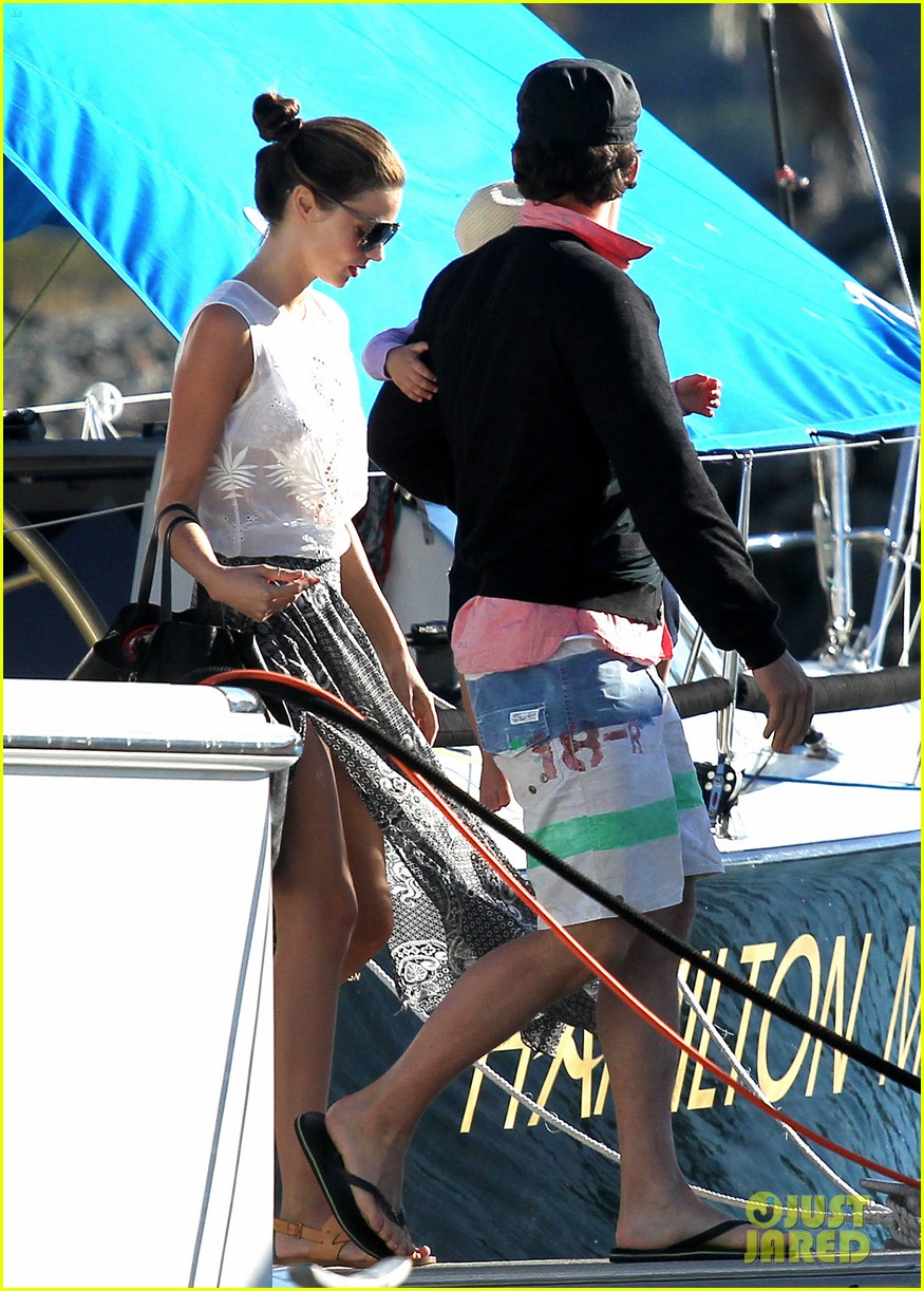 miranda kerr orlando bloom yachting 132697250