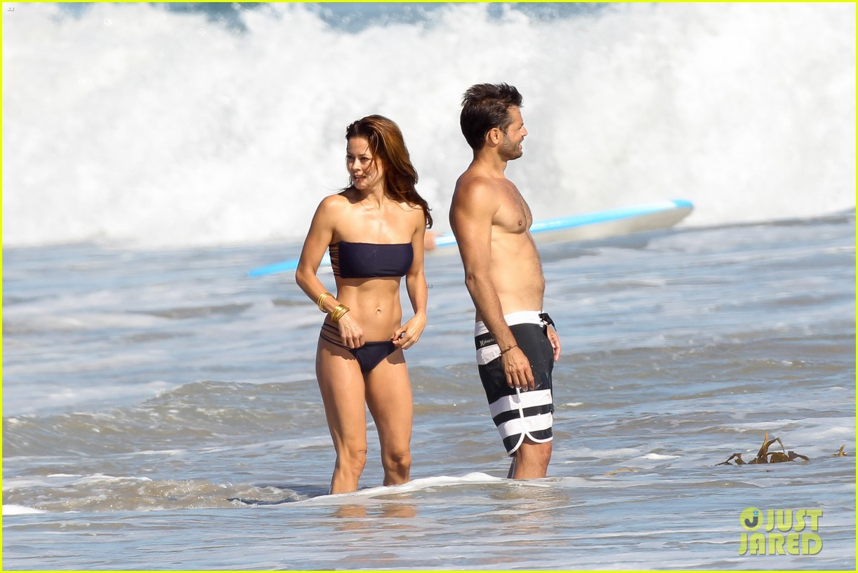 brooke burke david charvet malibu beach lovers 09