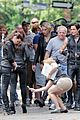 lily collins jamie campbell bower mortal instruments set 16