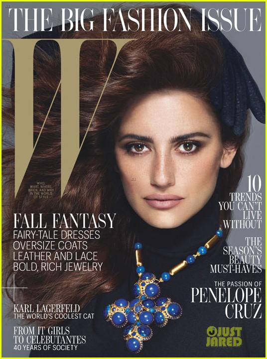 penelope cruz covers w magazine september 2012 012701471