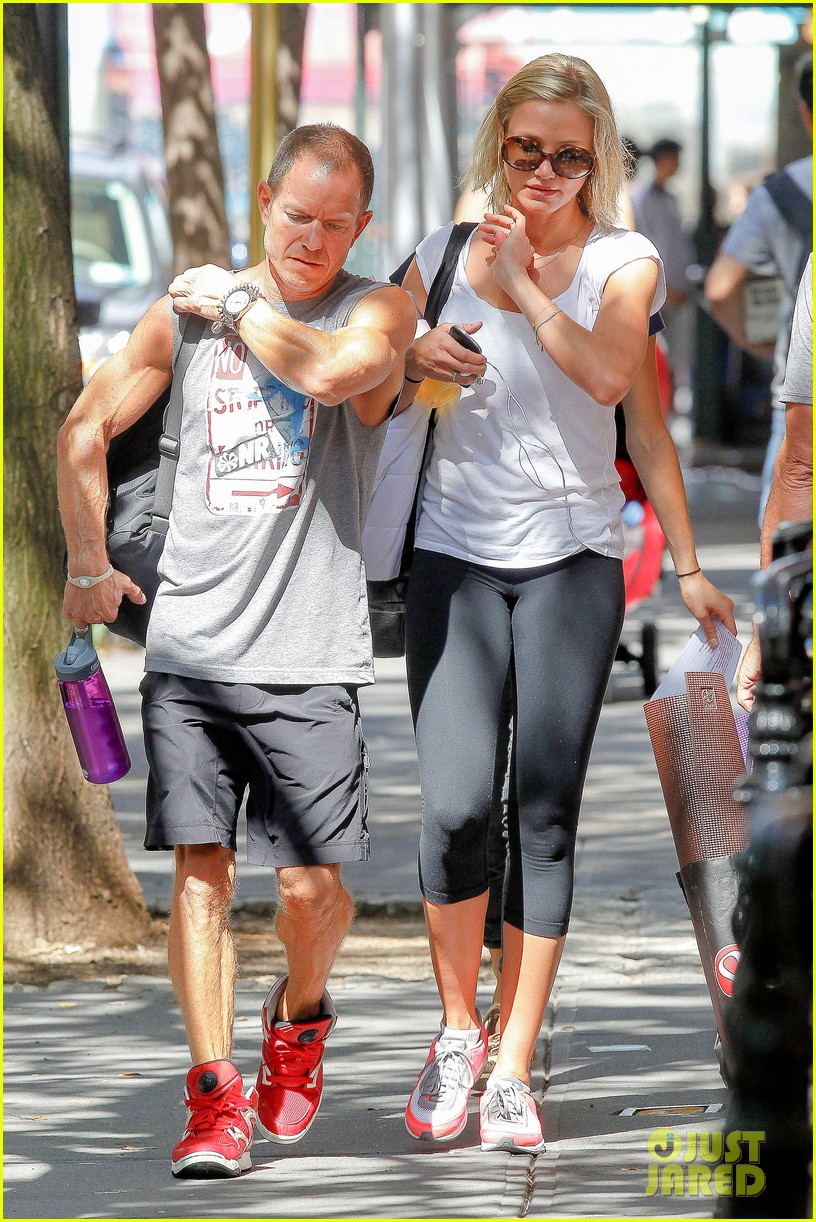 cameron diaz fitness fun in big apple 152709934