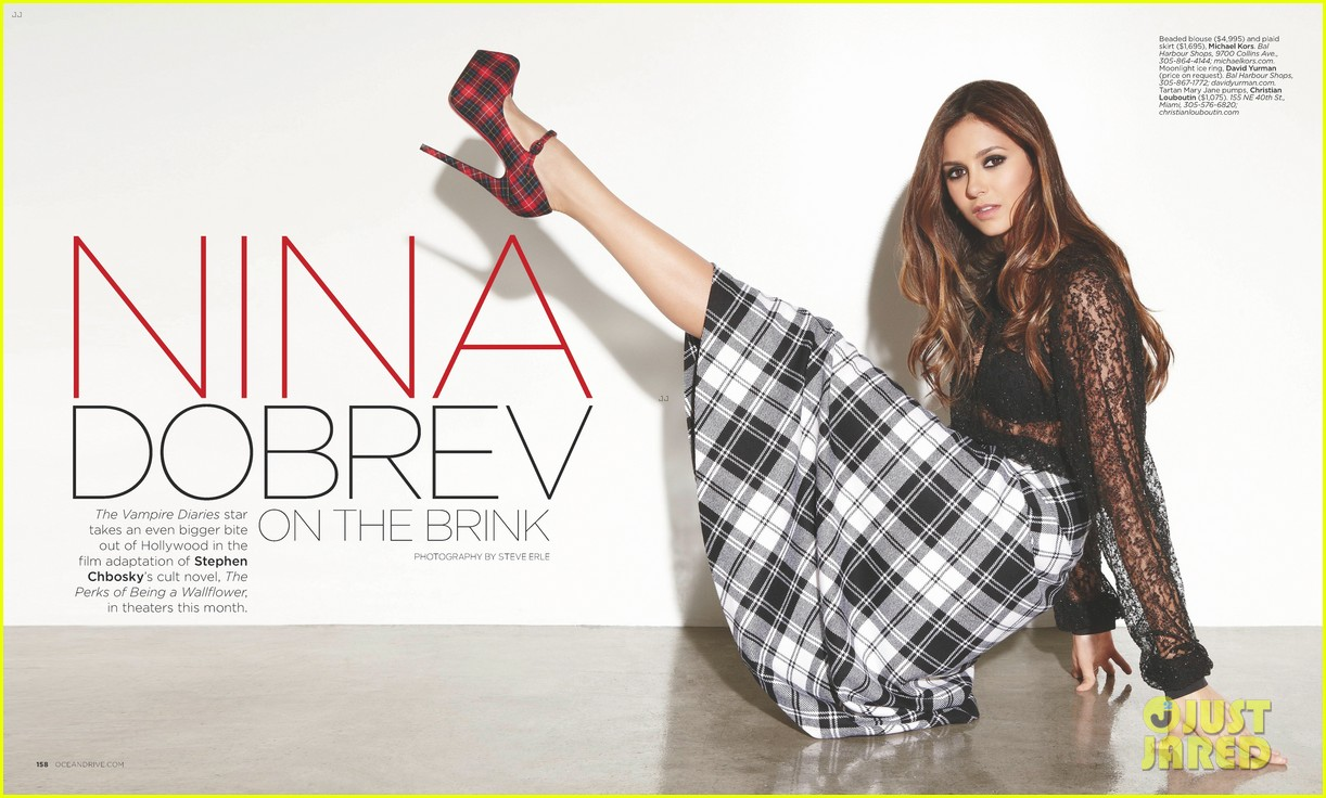 nina dobrev covers ocean drive september 2012 03