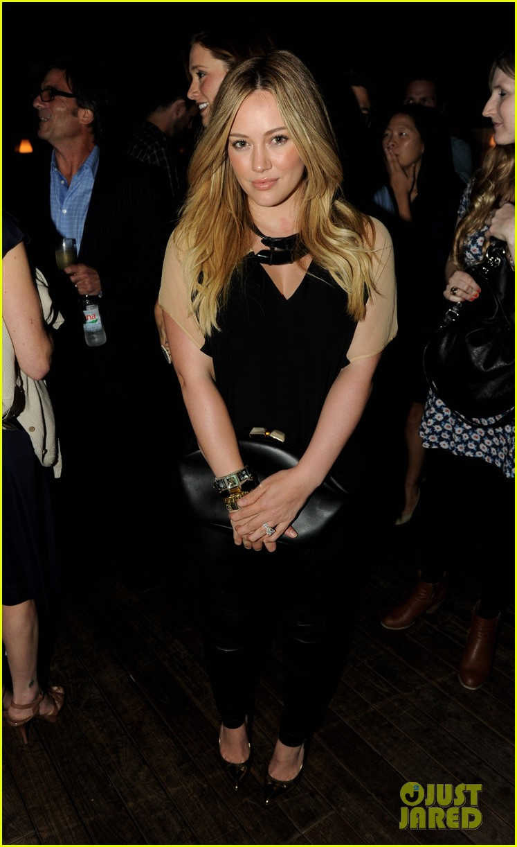 hilary duff mindy project party 01