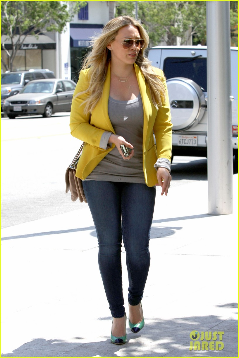hilary duff studio city shopping luca 12