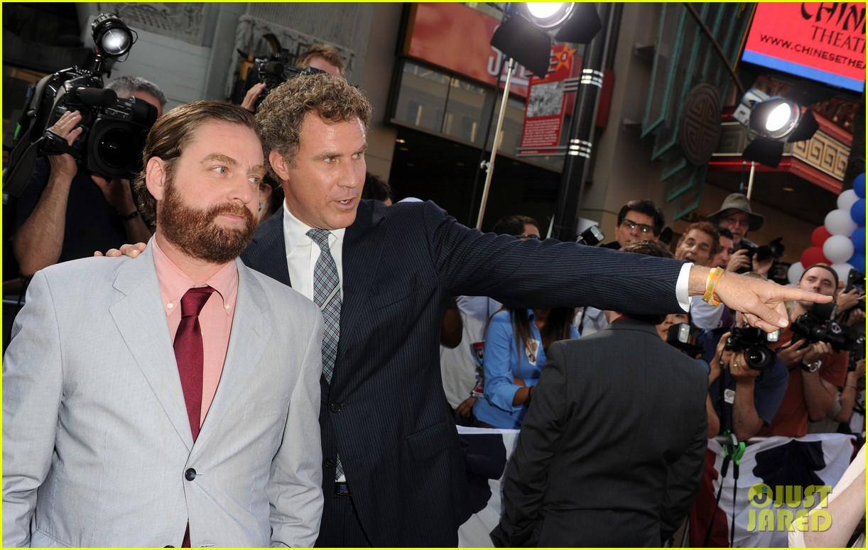 will ferrell zach galifiankis campaign premiere 16