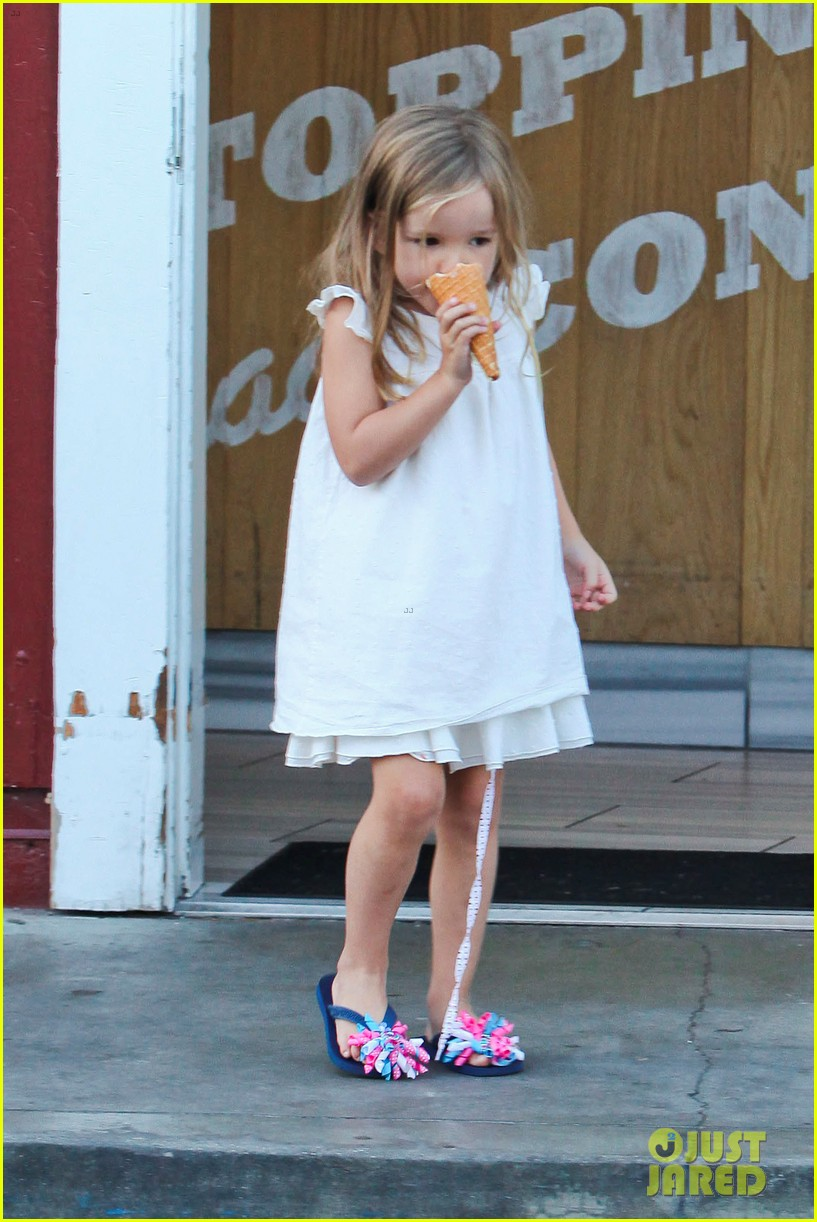 jennifer garner ben affleck ice cream kids 05