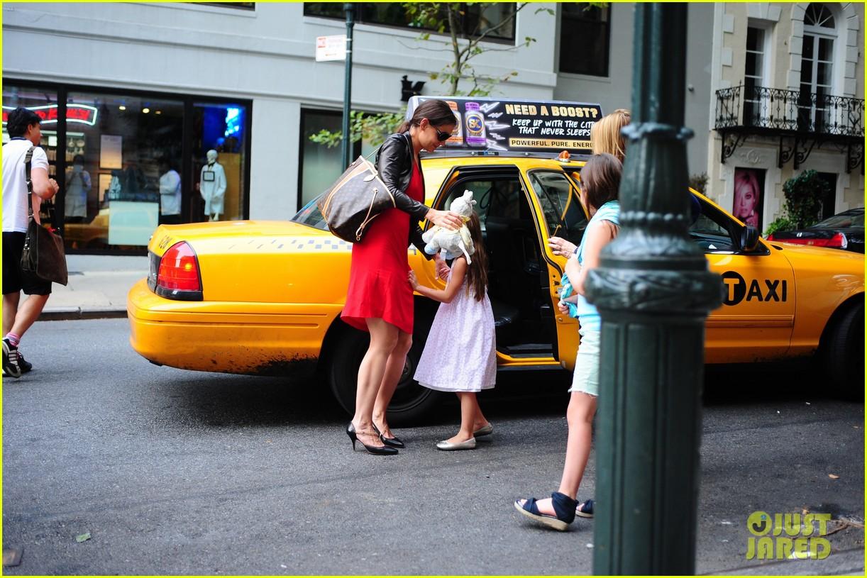 katie holmes suri taxi twosome 15