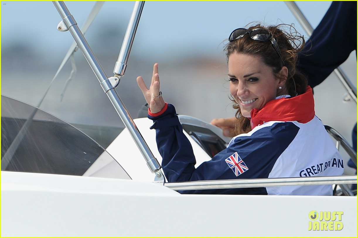 duchess kate womens laser radials at the olympics 03