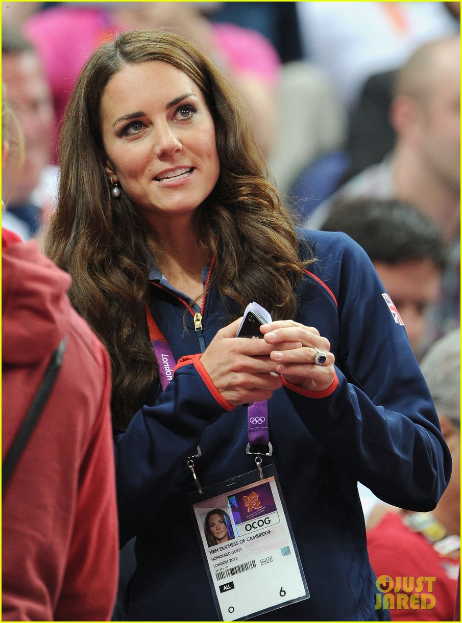 duchess kate olympic spectator 13