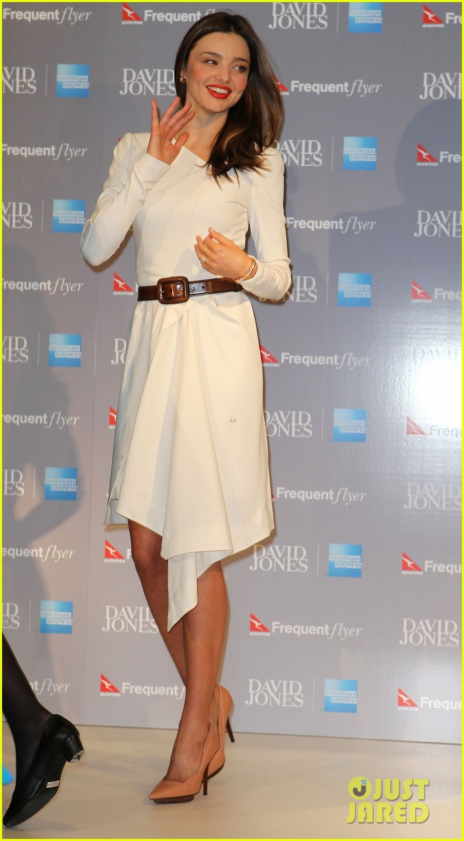 miranda kerr david jones amex press conference 012710744