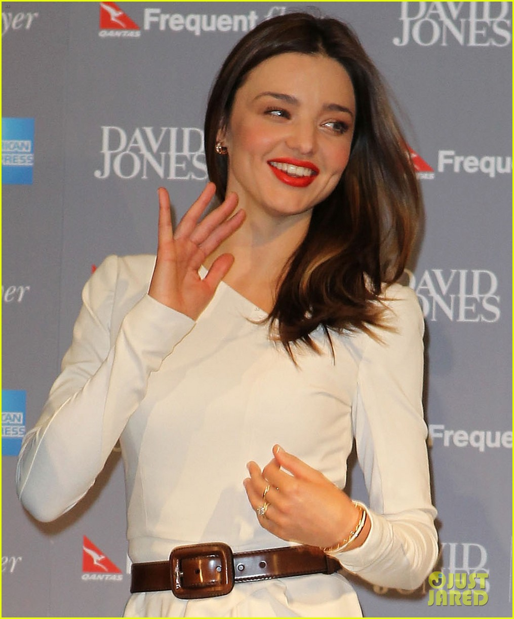 White dress david jones -  Store Details David Jones Miranda Kerr Spring Summer 2011 Fashion Show Red Sequin