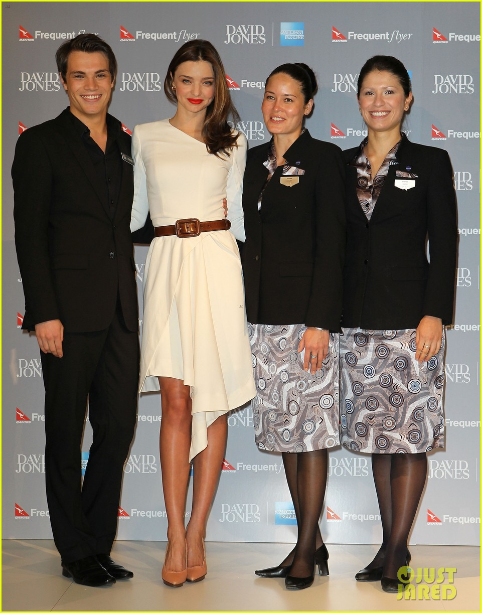 miranda kerr david jones amex press conference 05