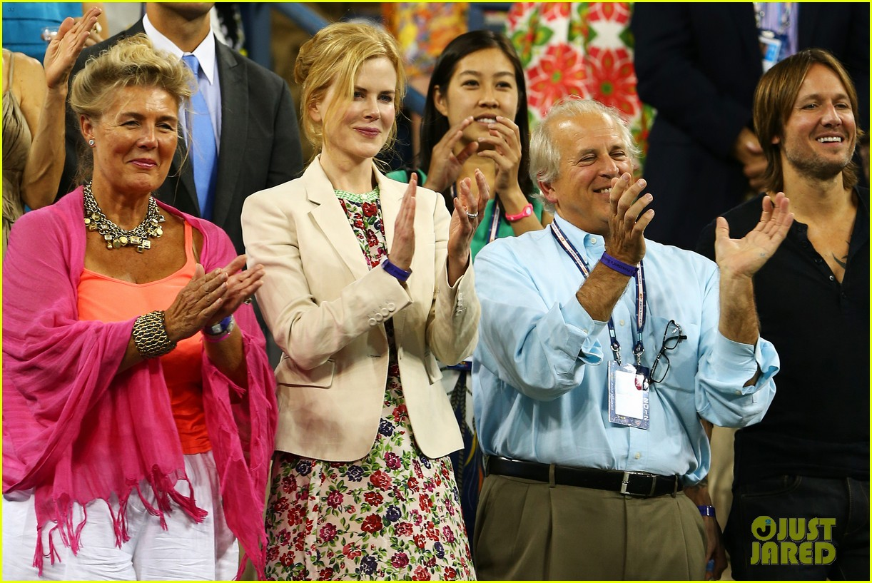 nicole kidman us open kiss with keith urban 02