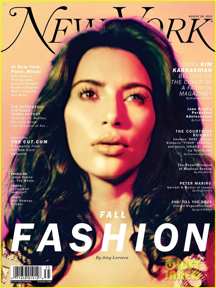 Full Sized Photo Of Kim Kardashian Covers New York Magazines Fashion Issue 01 Photo 2701383