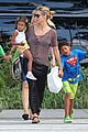 heidi klum lunch with kids 04