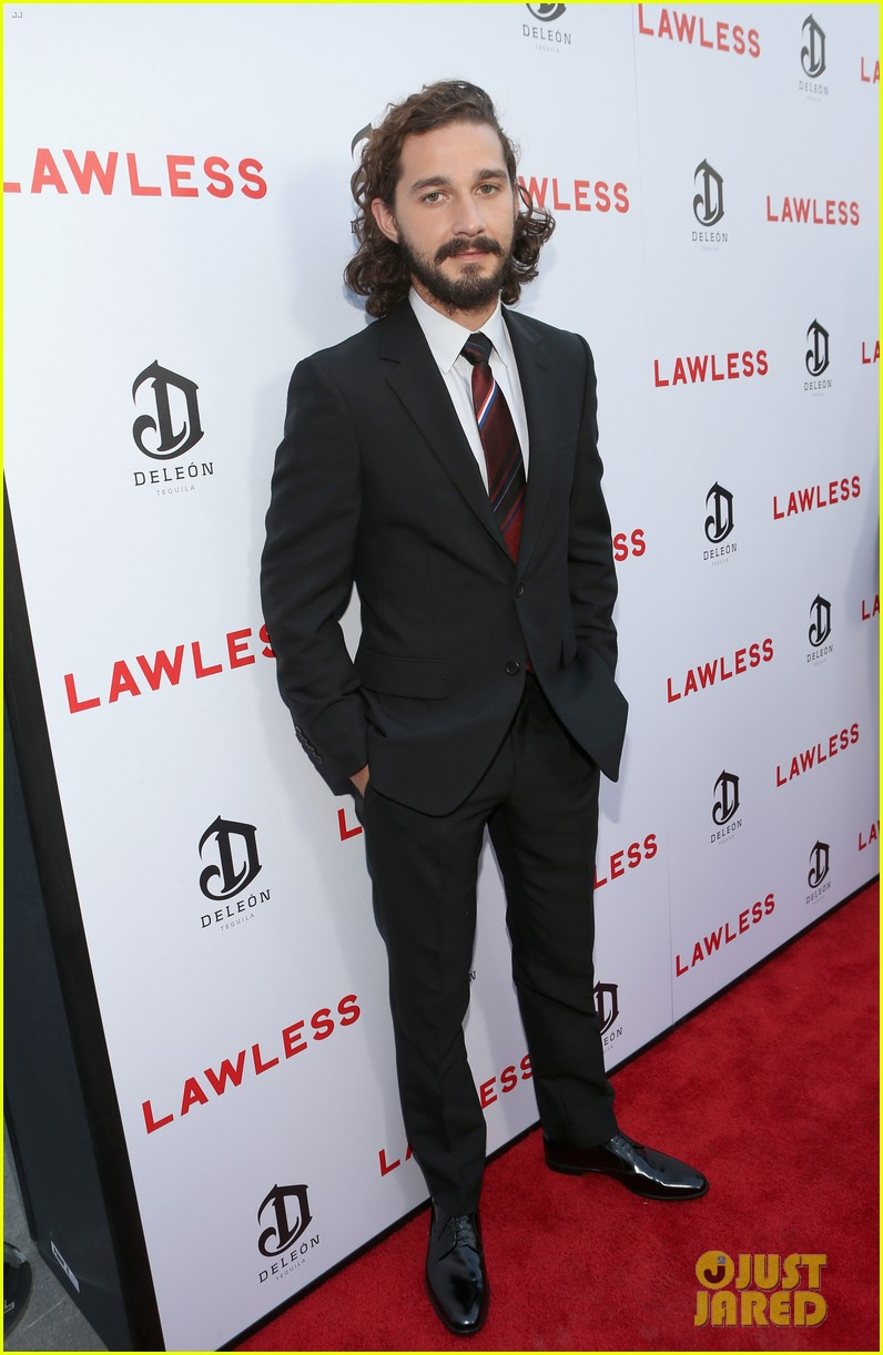 shia labeouf liberty ross lawless hollywood premiere 01