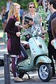 blake lively penn badgley vespa riders for gossip girl 03