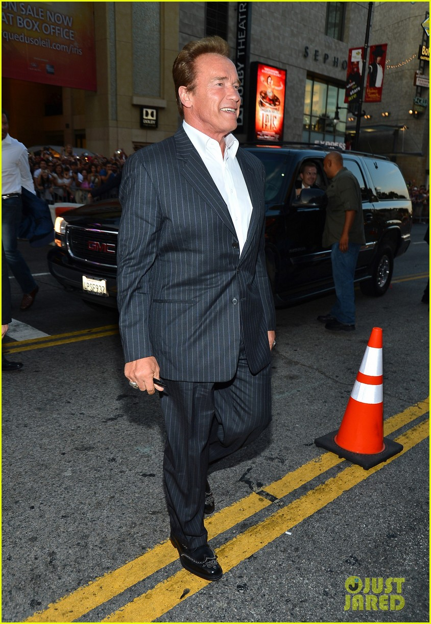 ryan lochte expendables 2 premiere with sylvester stallone 48