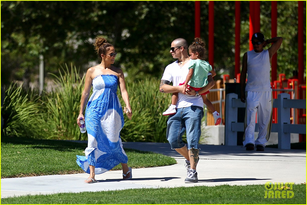 jennifer lopez casper smart going strong in calabasas 15