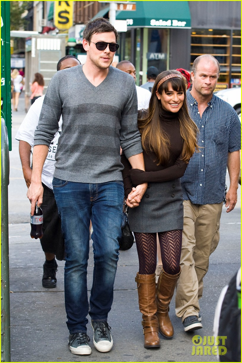 Did lea michele dating mark salling